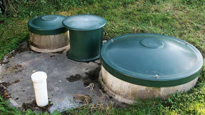 septic tank system installation company in Langley