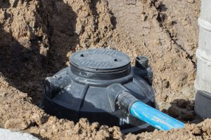 Septic Tank System Sitework In Edmonds