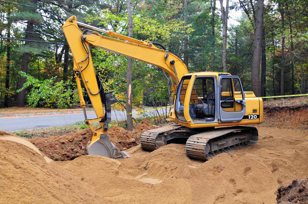 septic tank system repair service in Langley