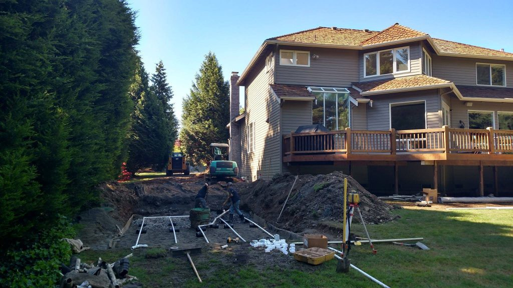 replace septic system in Snohomish County